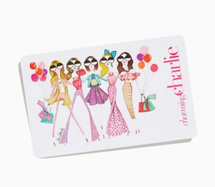 charming charlie gift card