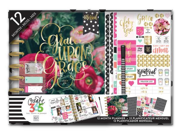 BOX-Happy Planner 365 Box Bottom 3T Header